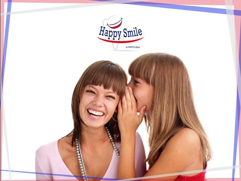 Offerta Pulizia denti Pinerolo - Promozione Porta un'amica Pinerolo - Happy Smile