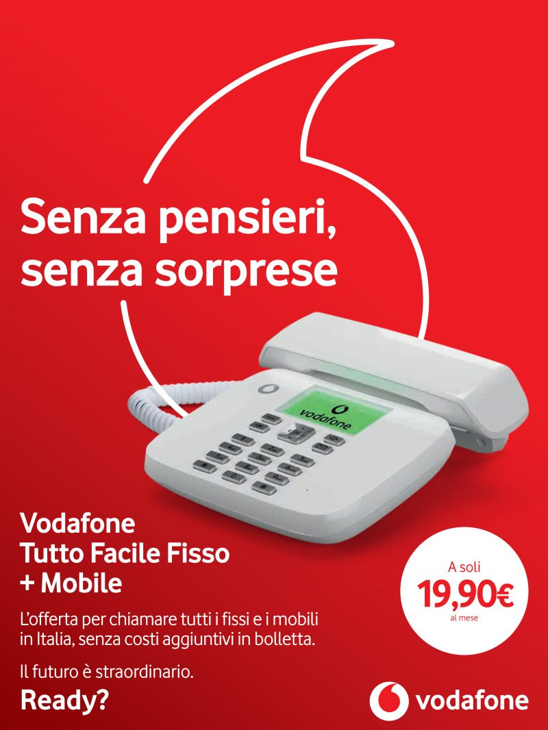 offerta vodafone fisso e mobile - promo vodafone tutto facile