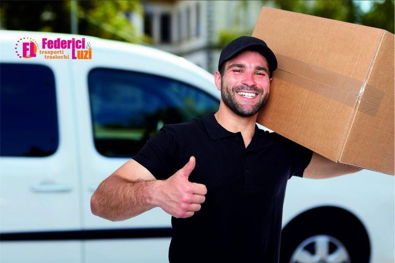 offerta servizio custodia deposito mobili - occasione noleggio box federici e luzi