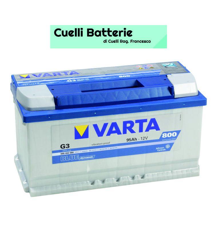 Promozione batterie auto offerta varta 95 ah cuelli batterie