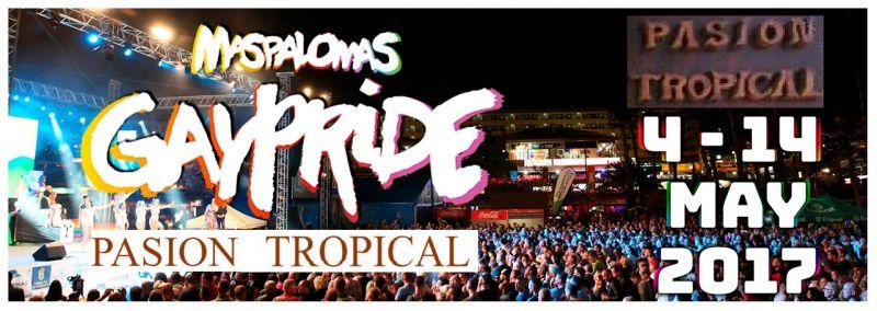 Offre Nuit Gay Pride 2017 Maspalomas Gran Canaria - Occasion centre touristique Gay Pride