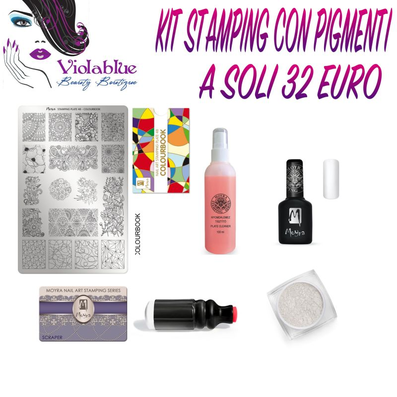 promozione, news, novità, offerta, saldi, kit, stamping, pigmenti, nail art, moyra, nails, nail