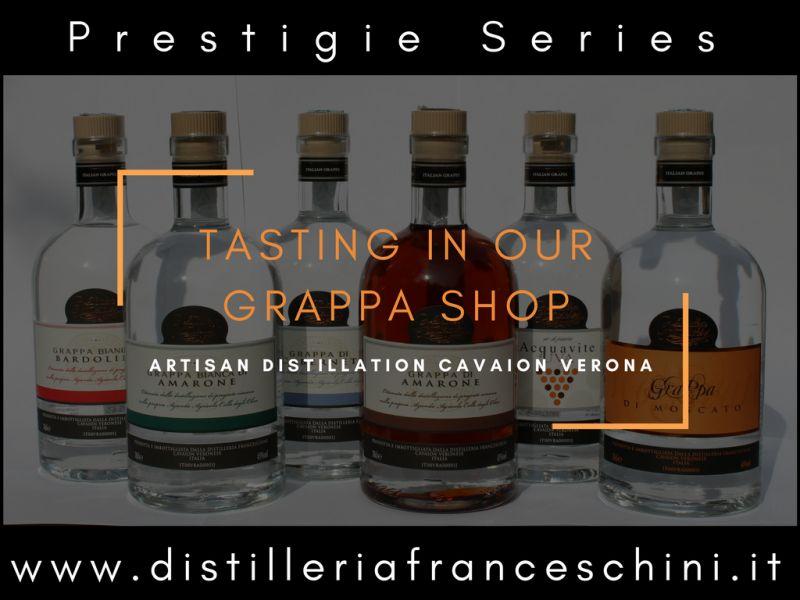 Offerta distillati artigianali Verona - Promozione Grappa Amarone artigianale Cavaion