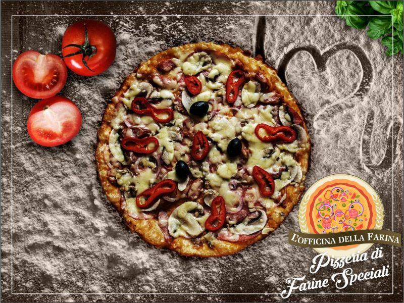 Offerta Pizzeria farine speciali - Promozione Pizza kamut integrale tumminia - Favignana