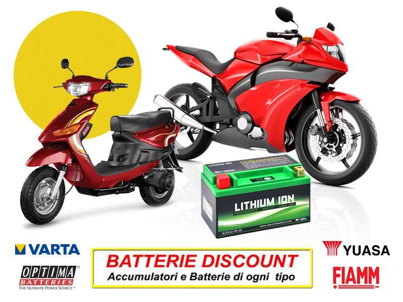 Offerta Batterie Moto - Promozione batterie Scooter - Batterie Discount