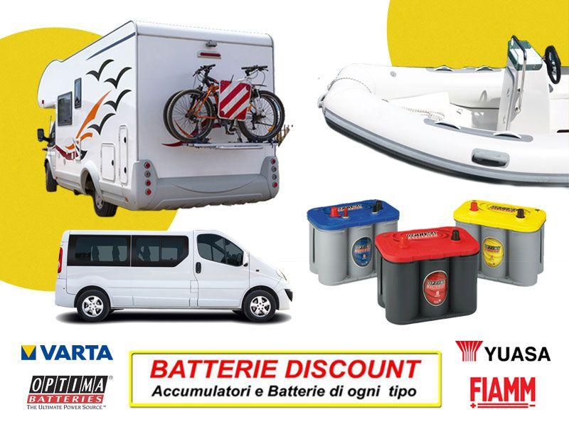 Offerta Batterie per servizi - Promozione accumulatori - Batterie Discount