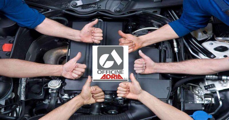 offerta riparazioni auto Monfalcone - occasione revisioni tagliandi auto Officine Adria