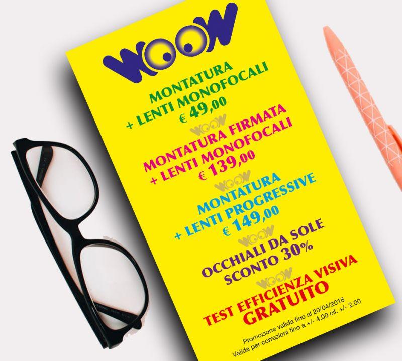 offerta occhiali da vista occhiali da sole Foggia-promozione lenti monofocali progressive Trani