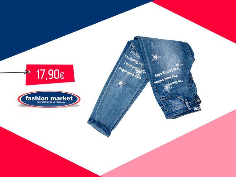 offerta Fashion Market Jeans donna moda - occasione collezione jeans da donna pantaloni