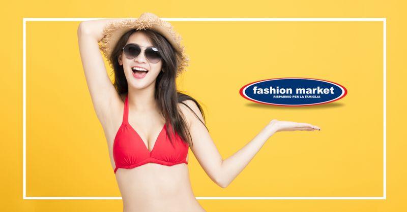 offerta saldi moda mare Fashion Market - occasione costumi donna sconto abbigliamento mare