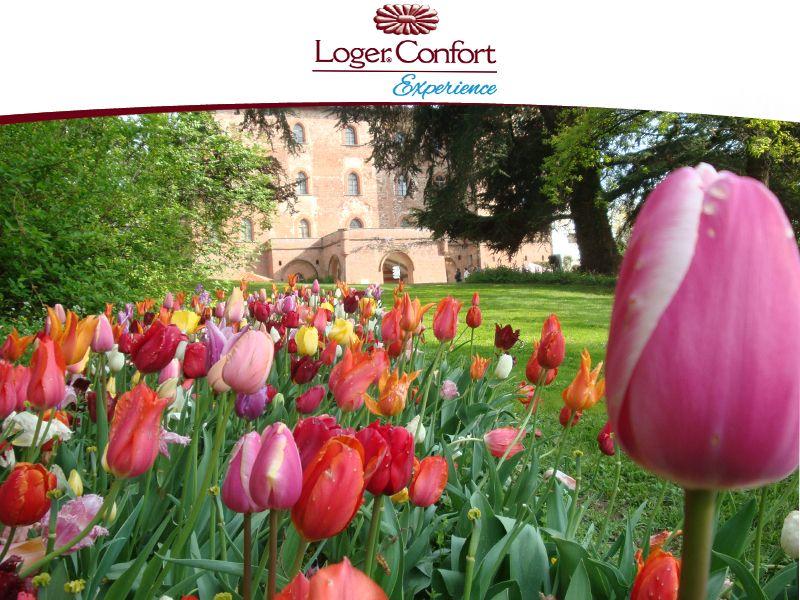 Offerta mostra floreale Castello di Pralormo Città di Torino - Loger Confort Residence