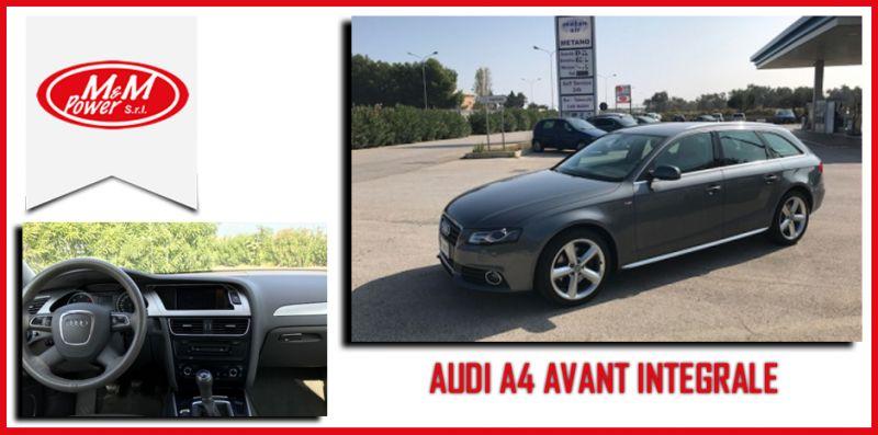 promozione Audi A4 2.0 170cv Bari- offerta audi A4 usato garantito Bari - M&M Power