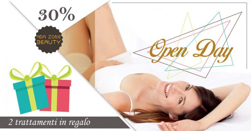 Offerta Open day estetica Talsano - Promozione Open day trattamenti estetici in regalo Talsano