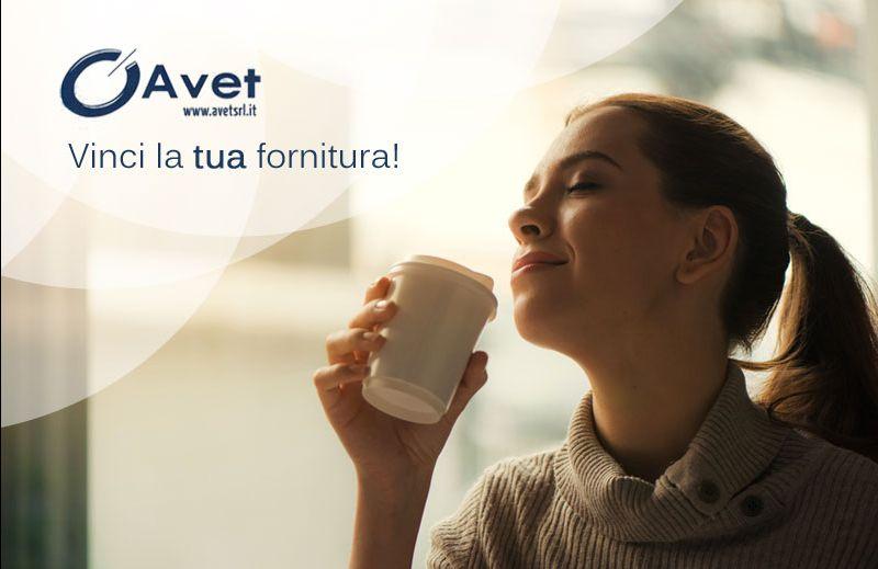 offerta fornitura caffe omaggio - promozione distribuzione caffe - avet