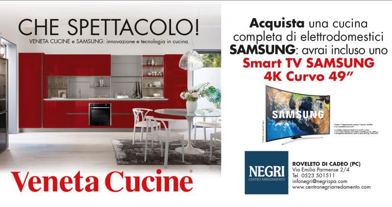 Promozione Veneta Cucine Samsung Silestone