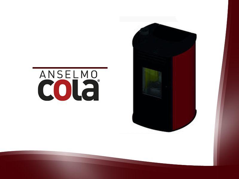 Per una stufa dalle alte prestazioni scegli in nuovo Modello Vision Marchio Cola. scopri di piu