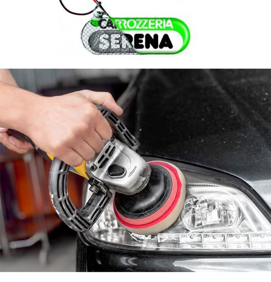 Alla carrozzeria Serena puoi effettuare la lucidatura dei fanali opacizzati della tua auto. Scopri di più!