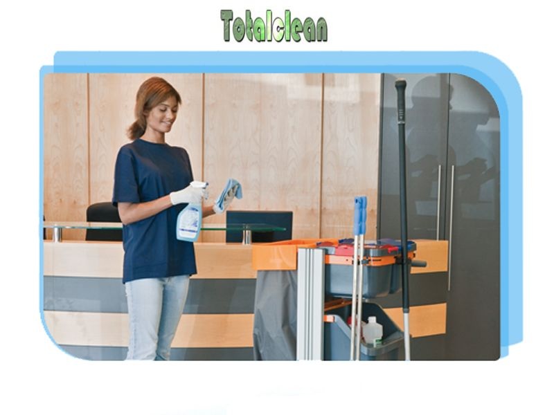 Promozione servizio pulizia - Offerta pulizie industriali - Totalclean