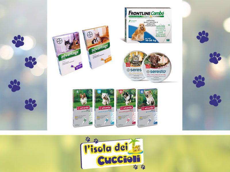 offerta antiparassitari cane narni - promozione antiparassitari gatto narni -isola dei cuccioli
