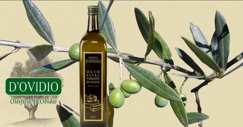 Oleificio D'Ovidio Angebot Produktion von hochwertigem Olivenöl extra vergine Made in Italy