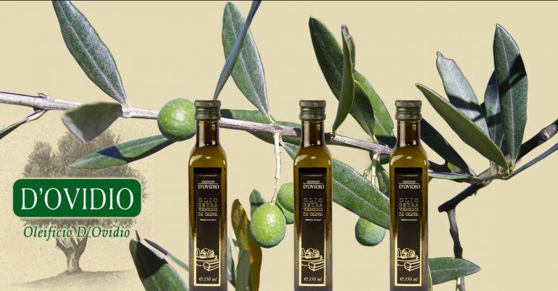 Oleificio D'Ovidio Förderung Onlineverkauf von traditionellem Olivenöl extravergine Made Italy