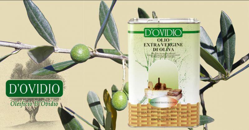 Offre Bidon métallique 3L. vente en ligne huile d'olive vierge extra fabriquée en Italie