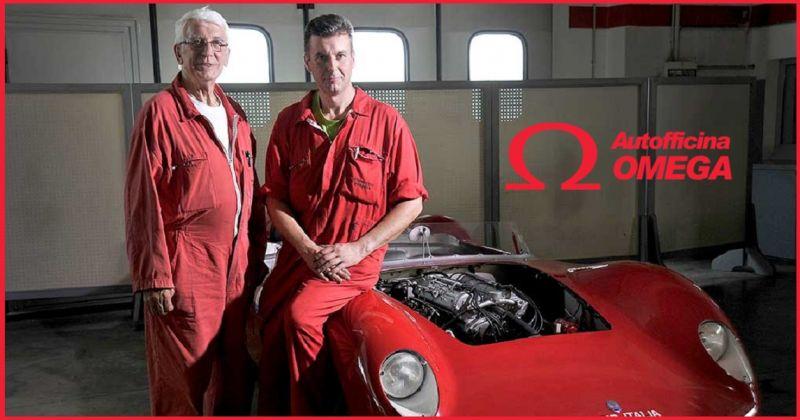 Autofficina OMEGA - préparation spécialisée des voitures historiques Ferrari Alfa Romeo Maserati