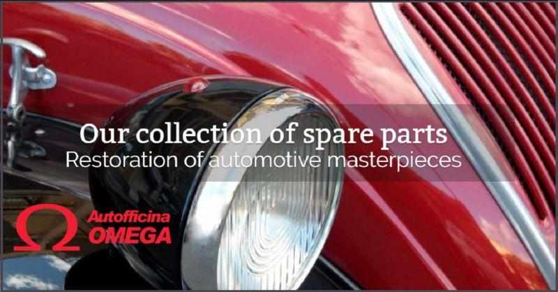 Autofficina Omega Collectionneurs internationaux de voitures historiques de prestige made Italy
