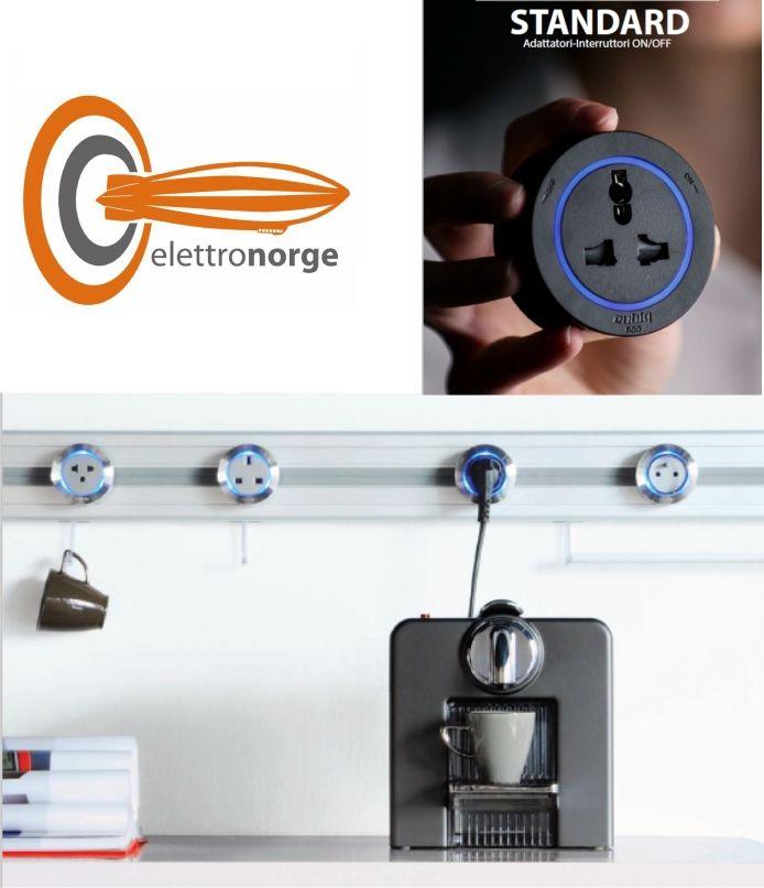 ELETTRONORGE - Promozione interruttori e adattatori elettrici