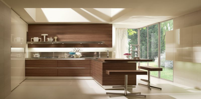 Cucine Salvarani mod. High Teak | Giannotti