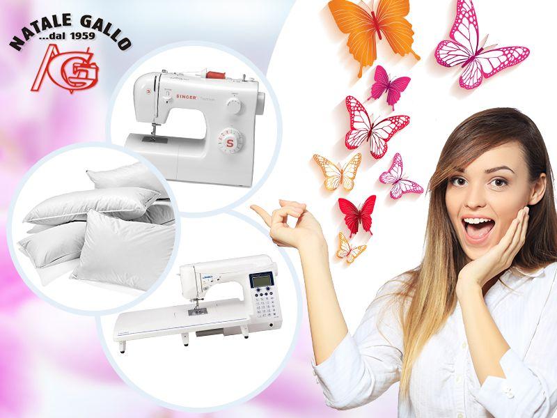 Natale Gallo - Offerta Articoli per Cucire - Occasione Macchine per Cucire