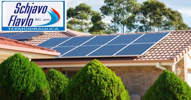 Offerta installazione pannelli solari vicenza - occasione Schiavo impianto solare Vicenza