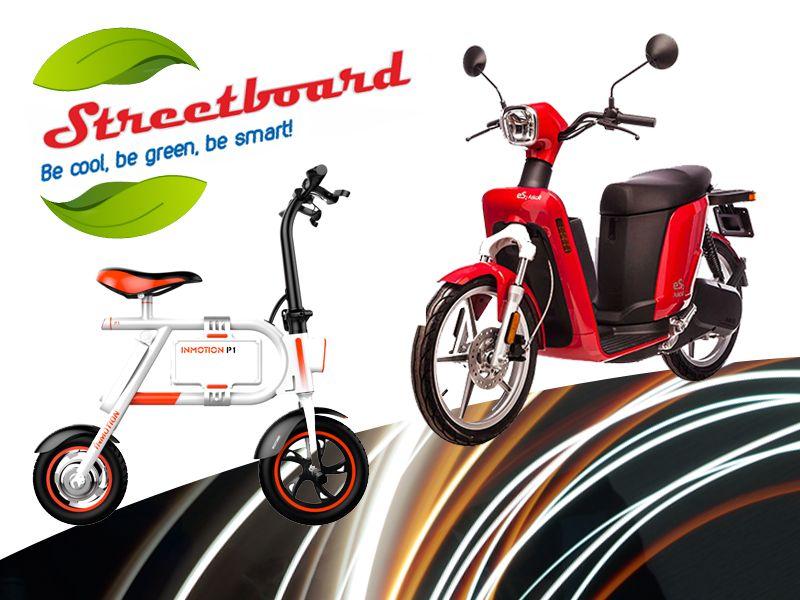 offerta mini scooter elettrico streetboard - promozione ebike bici elettrica streetboard