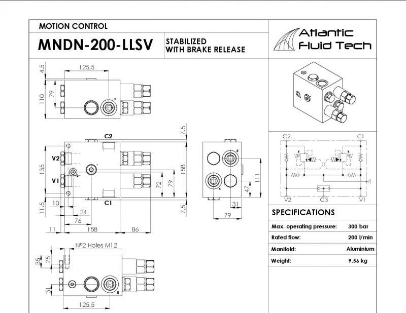 Offerta controllo rotazione MN000021 Atlantic Fluid Tech - Occasione valvole rotazione