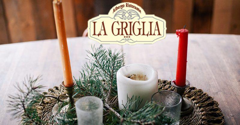 Hotel Ristorante La Griglia offerta natale a Como - occasione menù pranzo di natale a Como