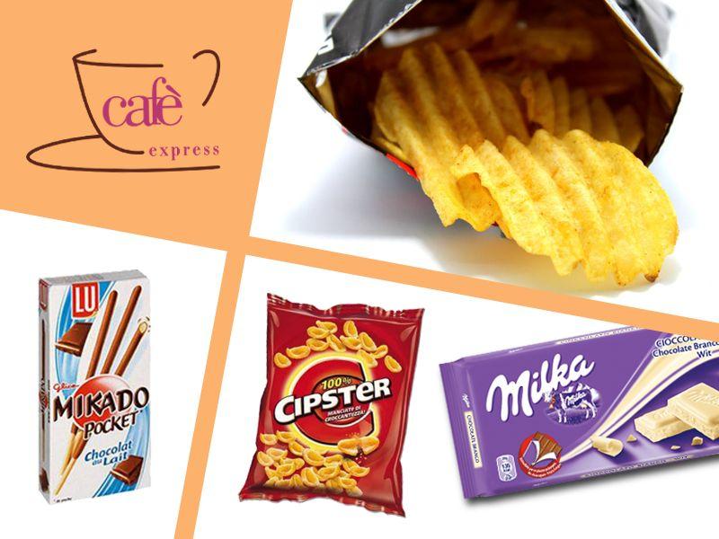 offerta distribuzione snack distributori automatici - promozione prodotti distributori vittoria