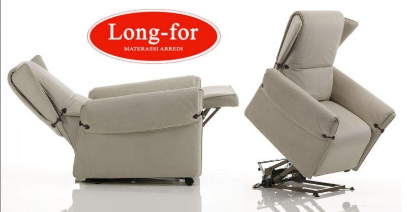 LONG FOR offerta poltrona con roller system a Sona - occasione poltrona relax di design Verona