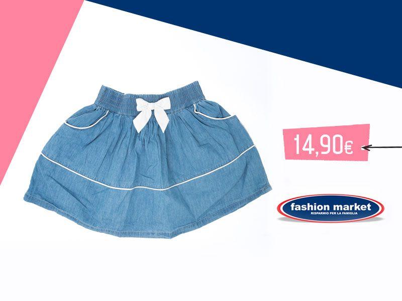 offerta gonna da bambina - occasione collezione bambina vestiti Fashion Market