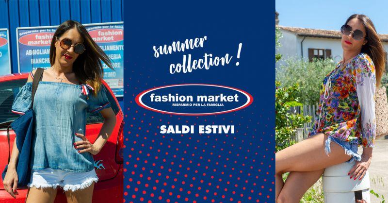 offerta abbigliamento saldi estivi 2018 Roma - occasione Fashion Market  sconti abbigliamento 2892cc7bdd6