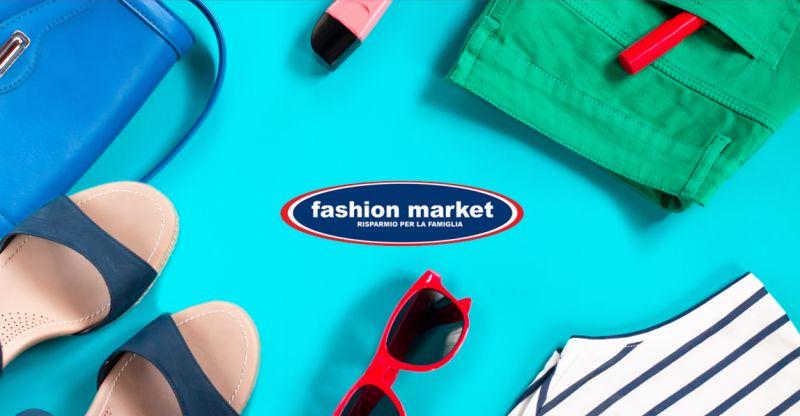offerta abbigliamento saldi estivi 2018 Roma - occasione Fashion Market sconti abbigliamento