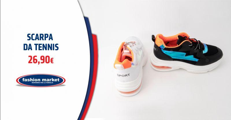 FASHION MARKET Offerta Scarpe da fitness Roma - Occasione scarpe da Tennis uomo e donna Roma