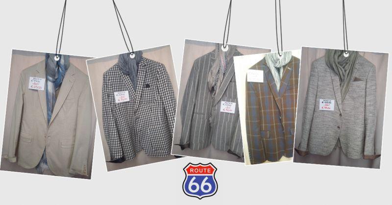 Offerta vendita giacche toni chiari estate moda uomo 2018 a Venezia - Route 66