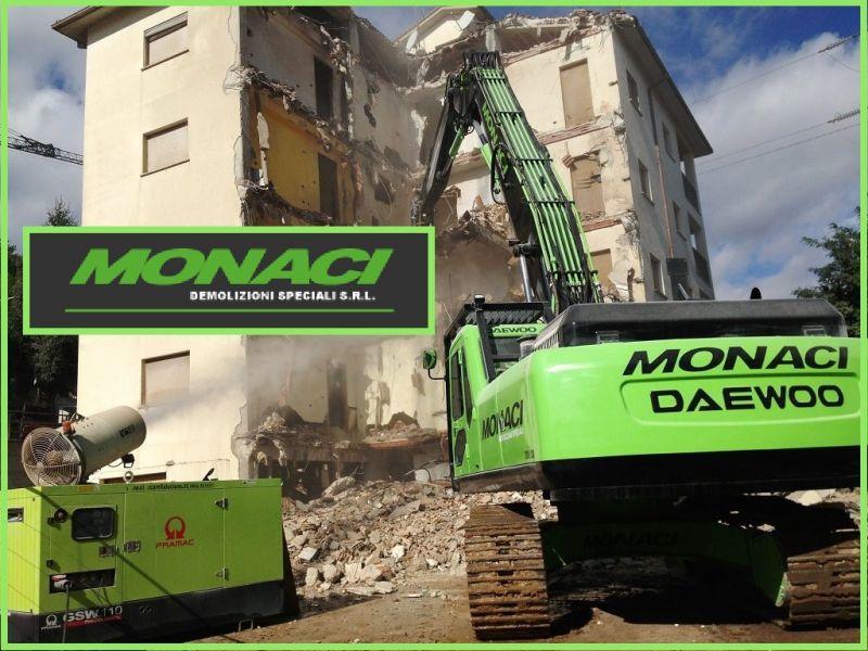Monaci Demolizioni Speciali Srl offerta servizio demolizioni speciali con esplosivo