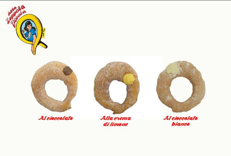 Offerta pacchetto happy sweet - Promozione vendita zeppole al cioccolato Alla Zeppola Dorata