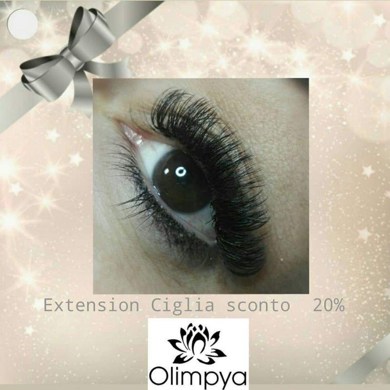 CENTRO ESTETICO OLIMPYA - PROMOZIONE TRATTAMENTO EXTENSION CIGLIA METODO ONE TO ONE