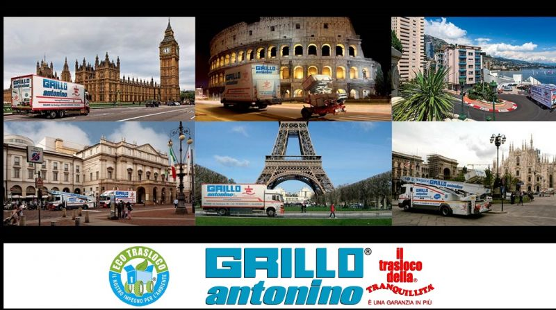 Grillo Antonino Traslochi - promotion of complete services for international removals ITALY