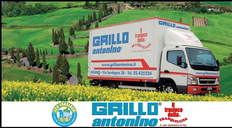 Grillo Antonino Traslochi - promozione servizi completi per traslochi internazionali ITALIA