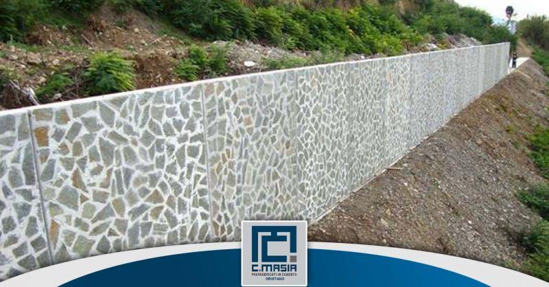 Offerta Muri di contenimento in pietra Oristano - Occasione lastre in calcestruzzo contenimento