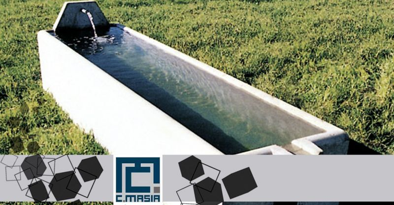 Offerta Vendita Abbeveratoi in Cemento - Occasione Vasche Prefabbricate per zootecnica Oristano