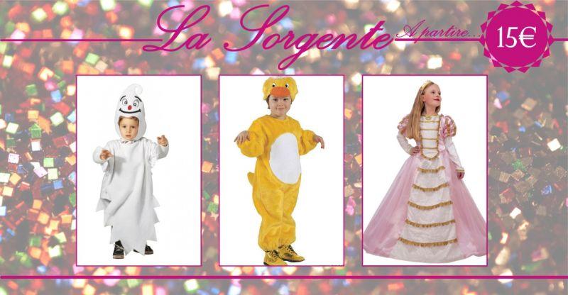 LA SORGENTE QUARTU - offerta abiti di carnevale bambino  bambina  adulto